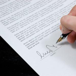 job Application letter small
