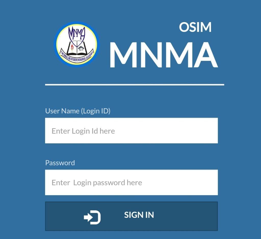 OSIM Login MNMA OSIM Results 2020/2021