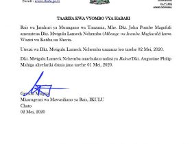 JPM New Appointment Today