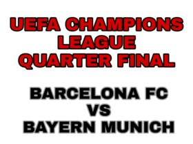 UEFA Barcelona Vs Bayern Munich Livestreaming