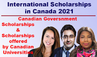 Fully Funded Scholarship In Canada 2020/2021