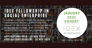idex fellowship january 2021 cohort