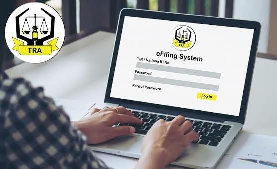 TRA e filing system E-filing Tanzania TRA Tanzania E filing VAT return