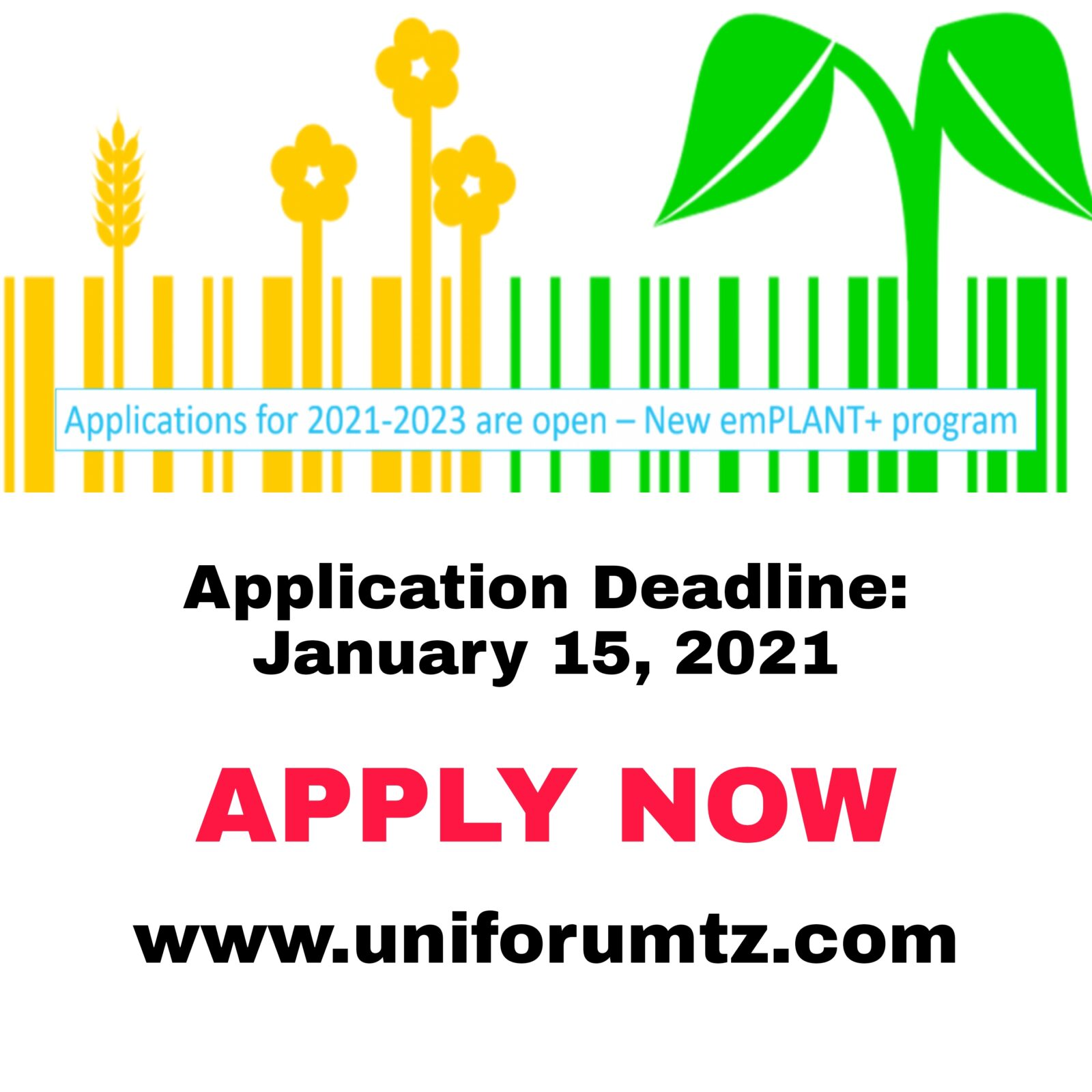 Call for emPLANT+ Applications 2021-2023