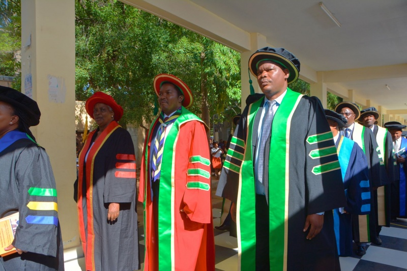 Minister Jafo wants all graduates to be creative in serving the nation