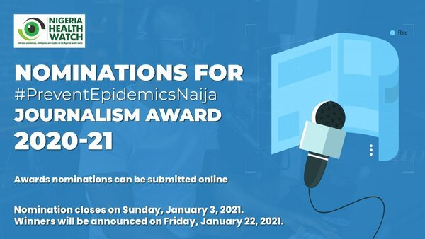 preventepidemicsnaija journalism award