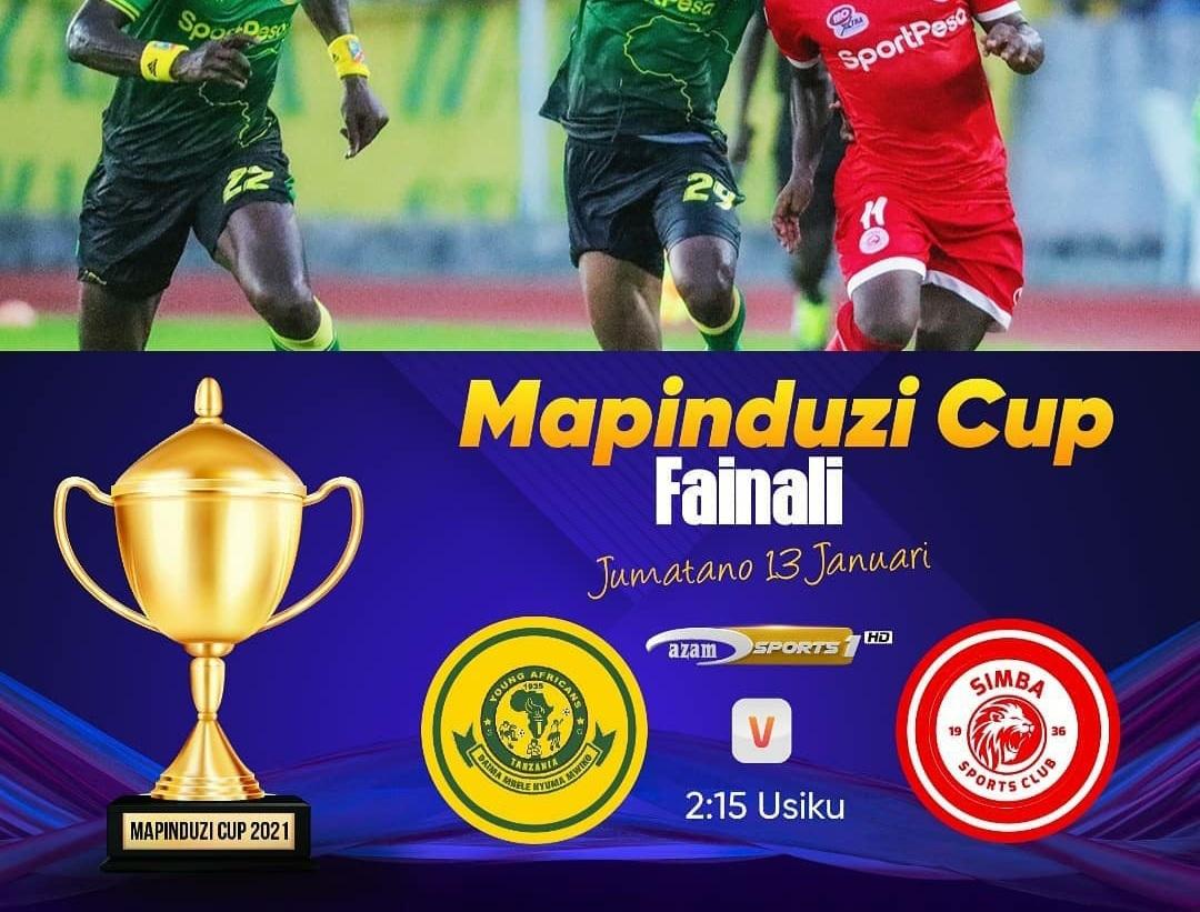 Simba Vs Yanga Mapinduzi Cup 2021