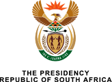 Presidency Internship 2021/2021 South Africa