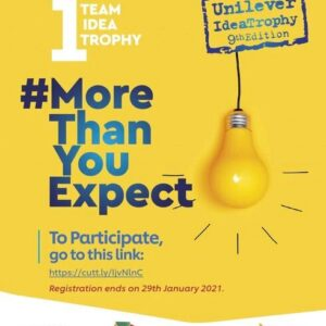 Unilever Idea Trophy 2021 For Young Nigerian Students