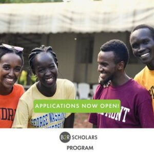 Bridge2Rwanda Scholars Program 2021