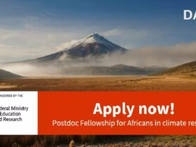 DAAD ClimapAfrica Postdoc Fellowship 2021 for Africans in Climate Research (Fully Funded)