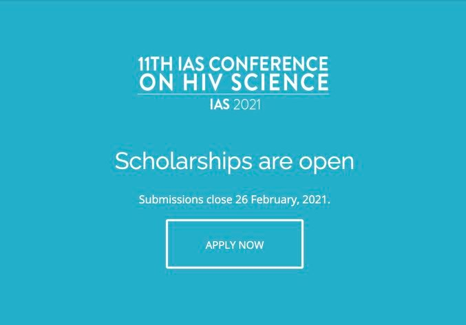 IAS International Scholarship Programme 2021