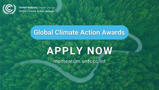 UNFCC 2021 UN Global Climate Action Awards