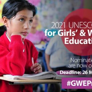 2021 unesco prize girls and womens education