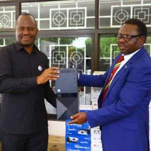 Gov't Give out ICT equipment for online training