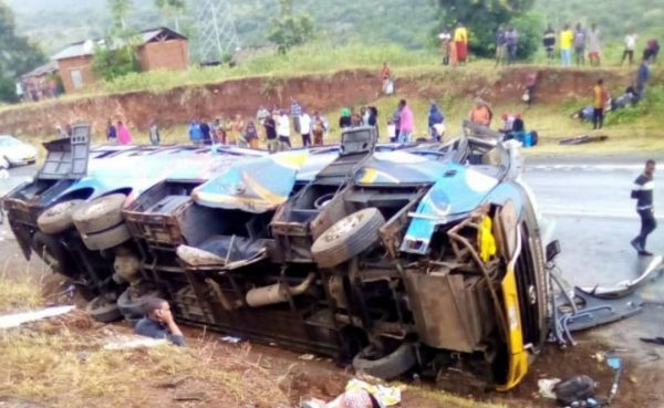 6 People Dead & 19 Injured Bus Accident