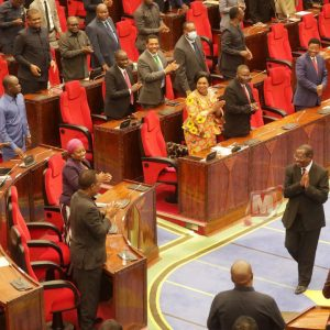 Parliament approved Dr Mpango as Vice President by 363 votes