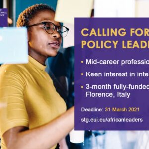 Young African Leaders Programme 2021 To Europe (Fully Funded)