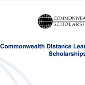 Commonwealth Distance Learning Scholarships 2021/2022 Fully Funded