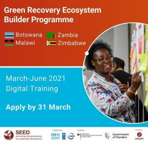 SEED Green Recovery Ecosystem Builder Programme