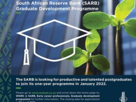 South African Reserve Bank (SARB) Graduate Development Programme 2022