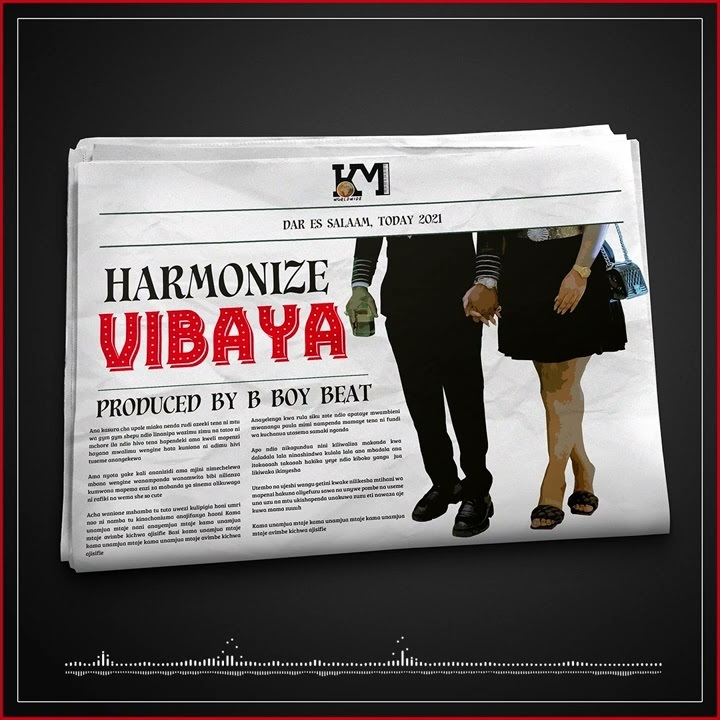 Harmonize Vibaya (official Audio) MP3