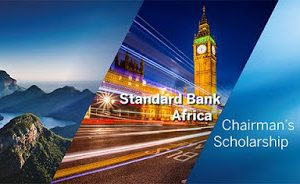 Standard Bank Africa Chairman's Scholarship 2021/2022, Fully Funded