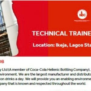 NBC Technical Trainee Program 2021 For Young Nigerians