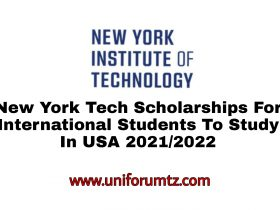 New York Tech Scholarships for International Students in the USA