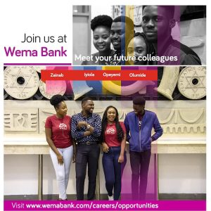 Wema Bank – Banker In Training Program 2021 For Young Nigerians