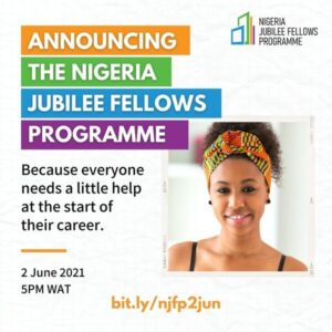 UNDP/Government of Nigeria Jubilee Fellowship Programme 2021