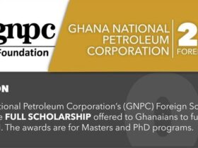 GNPC Foundation 2021/2022 Foreign Scholarships