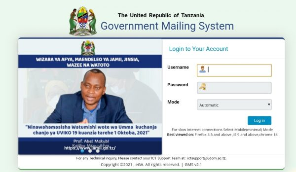 Government Mailing System