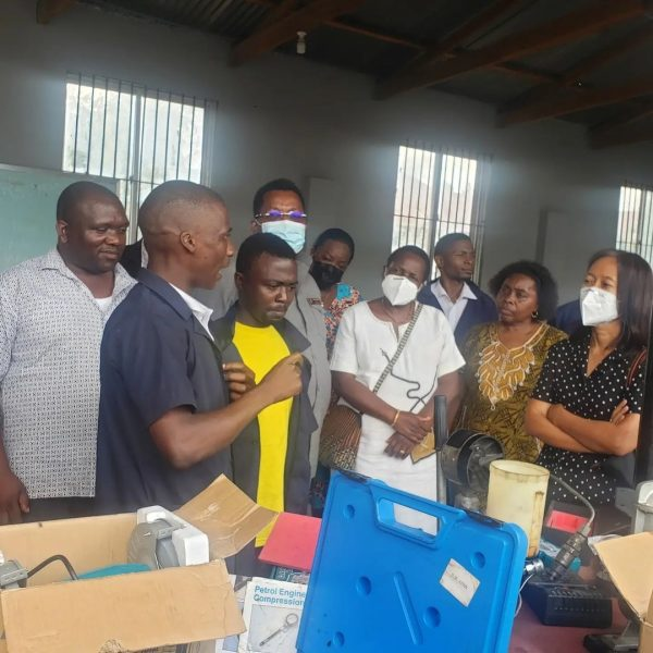 The World Bank inspects projects in Tanzania