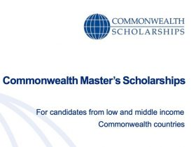 Commonwealth Master's Scholarships 2022/2023 in UK (Fully Funded)
